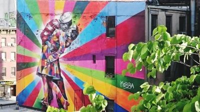 Graffitti on the High Line
