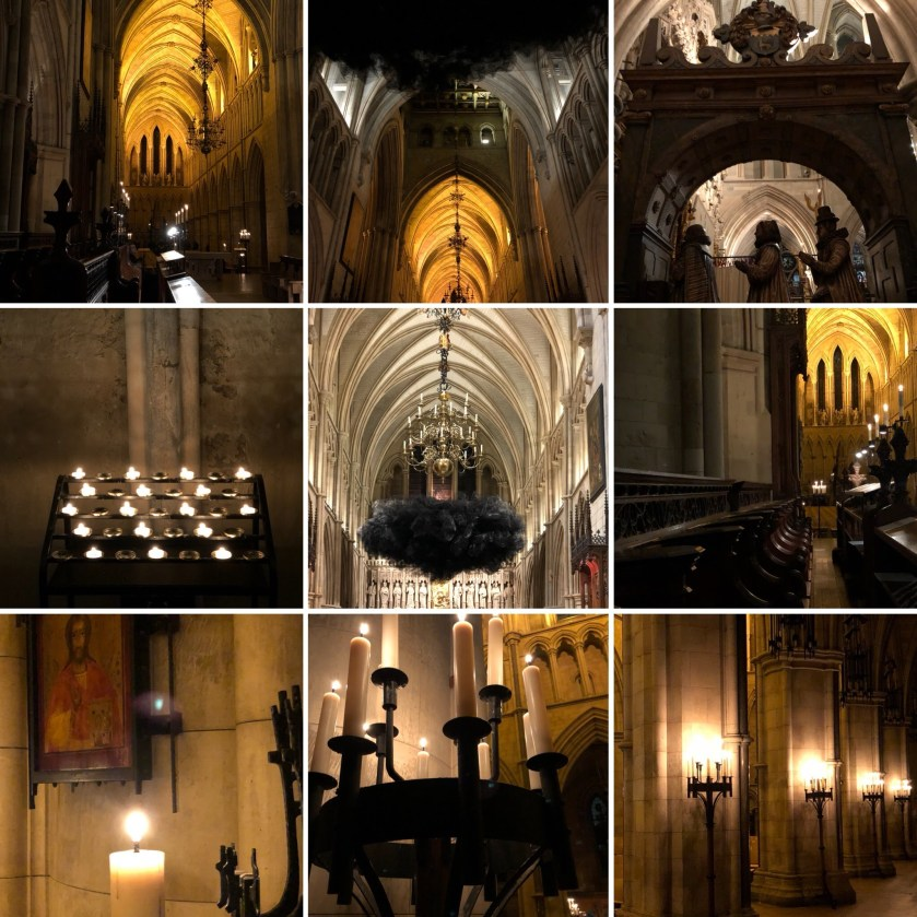 Candlelit Photography at Southwark Caathedral